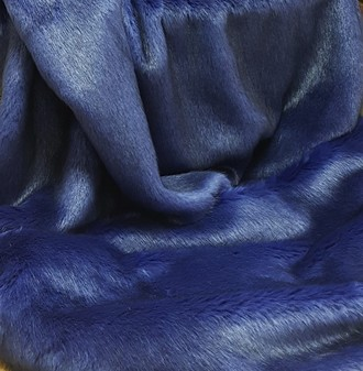 Violet Mink Faux Fur Fabric