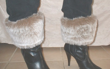 Koala Faux Fur Boot Toppers