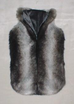 Chinchilla Faux Fur Hot Water Bottle Cover