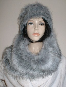 SALE Faux Fur Cowl/ Neck Warmers