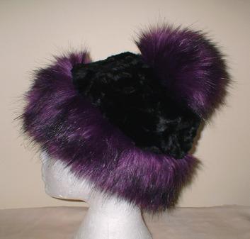 c6c75822e64 Women   Faux Fur Hats   Knitted Hats with Faux Fur Bobble   Faux Fur ...