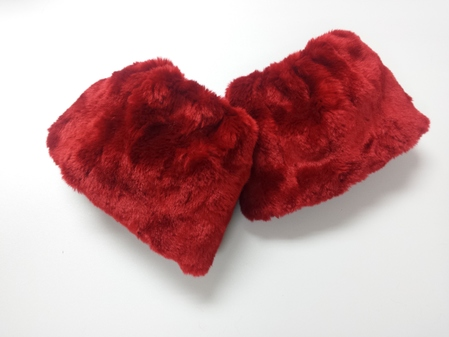 SALE Faux Fur Cuffs