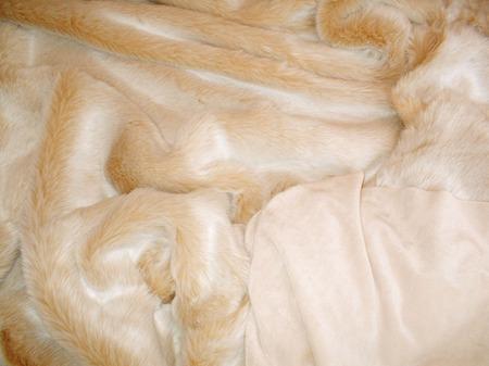 SALE Large Sunny Bear with Cream Velboa Throw