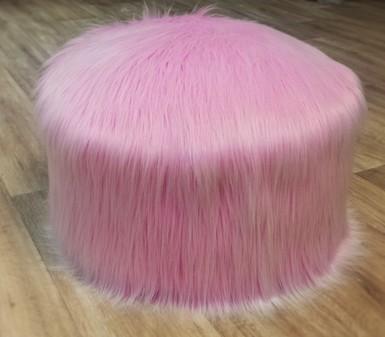 Candy Faux Fur Pouffes