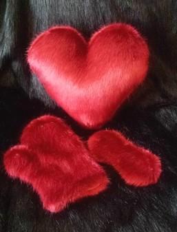 Faux Fur Valentines Gift Sets