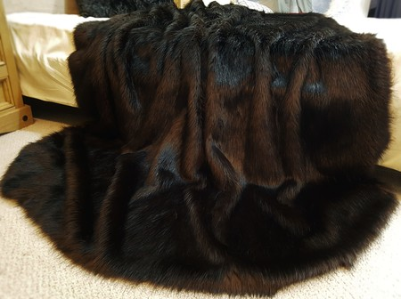 Coco Faux Fur Fabric Per Meter