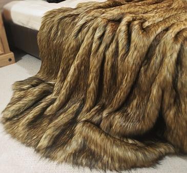 Simba Faux Fur Throw