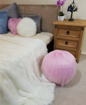 Candy Faux Fur Ball