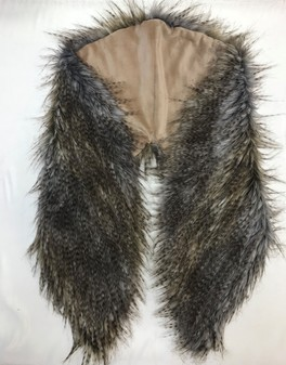 SALE Tundra Faux Fur Shawl Collar