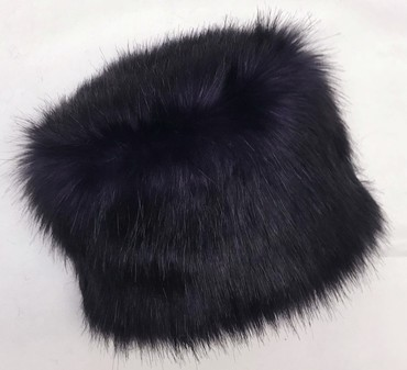 SALE Purple Rain Faux Fur Hat