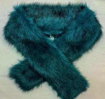 SALE Jade Faux Fur Scarf