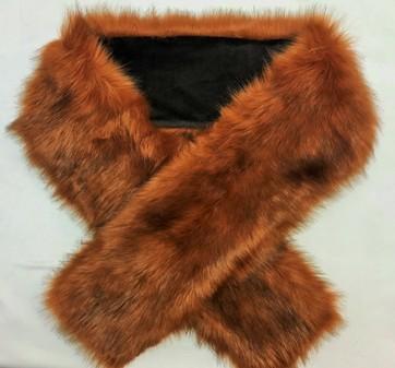 SALE Amber Faux Fur Scarf