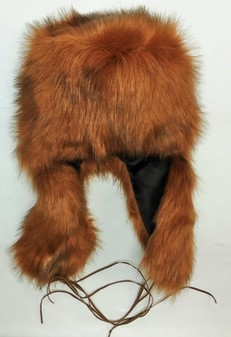 SALE Amber Faux Fur Trapper Hat