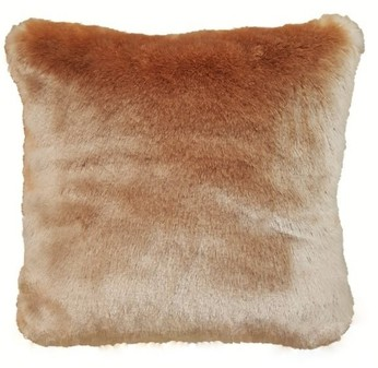 Tissavel Blush Faux Fur Cushions