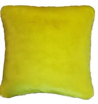 Tissavel Buttercup Faux Fur Cushion
