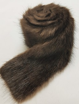 Mahogany Mink Faux Fur Trims