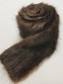 Mahogany Mink Faux Fur Trims