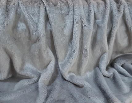 Silver Mink Faux Fur Trims