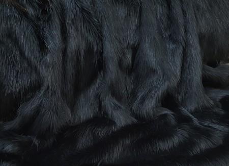 Black Bear Faux Fur Trims