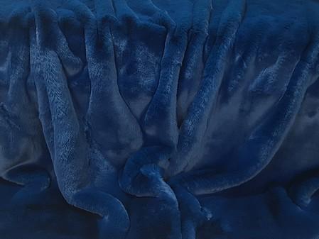 Petrol Blue Faux Fur Trims