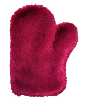 Hot Pink Mink Massage Mitt