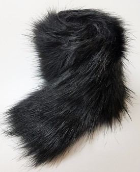 Black Bear Faux Fur Trims