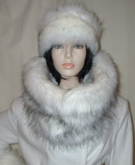 Alaska Faux Fur Cowl/Neck Warmer