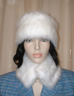 Snow White Faux Fur Headband