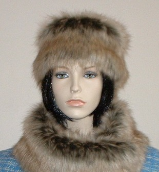 Husky Faux Fur Headband