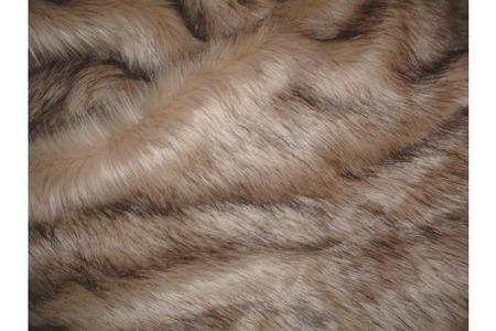 Fawn Musquash Faux Fur SECONDS Per Meter