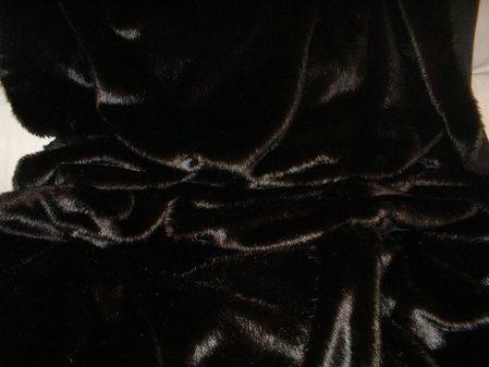 Mahogany Mink Faux Fur Swatch