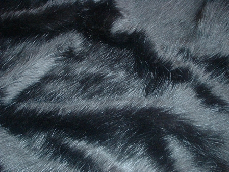 Black Bear Faux Fur per meter