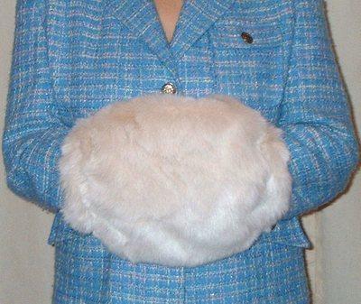 Sunny Bear Faux Fur Muff