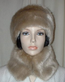 Honey Blonde Faux Fur Headband