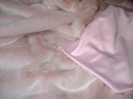 Pastel Pink Satin per meter