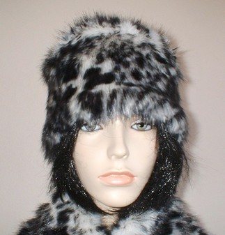 Panther Faux Fur Hat