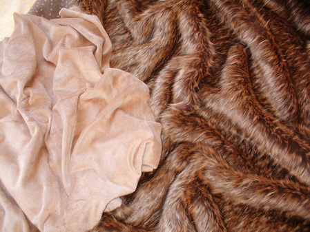 Latte Cuddle Soft Velboa per meter