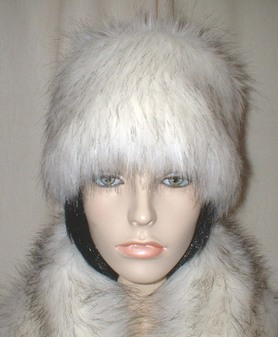 Alaska Faux Fur Hat Medium Size