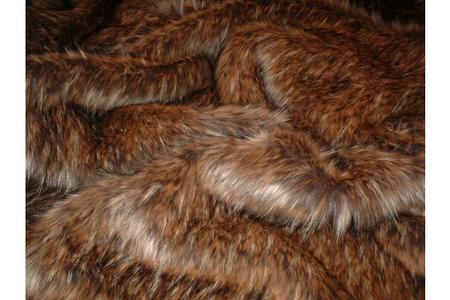 SECONDS Simba Faux Fur Fabric Per Meter