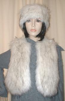 Alaska Faux Fur Bolero/Waistcoat