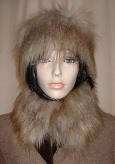 Coyote Faux Fur Collar