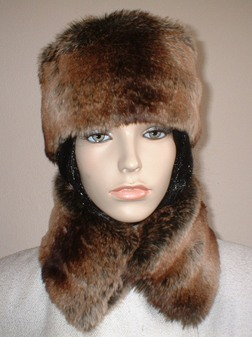 Madagascar Faux Fur Collar
