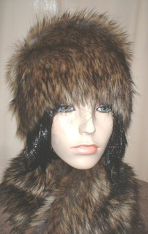 Simba Faux Fur Hat