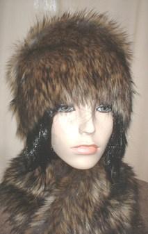 Simba Faux Fur Hat