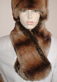 Madagascar Faux Fur Neck Scarf