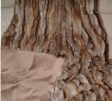 Sahara Faux Fur Throw
