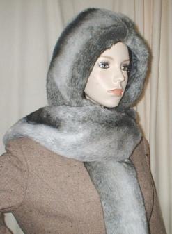 Chinchilla Faux Fur Hoodie