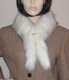 Alaska Faux Fur Slim Collar/Headband