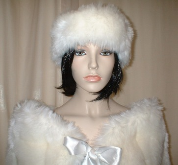 Tissavel Arctic Fox Faux Headband