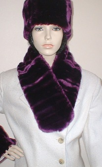 SALE Tissavel Indulgence Faux Fur Neck Scarf